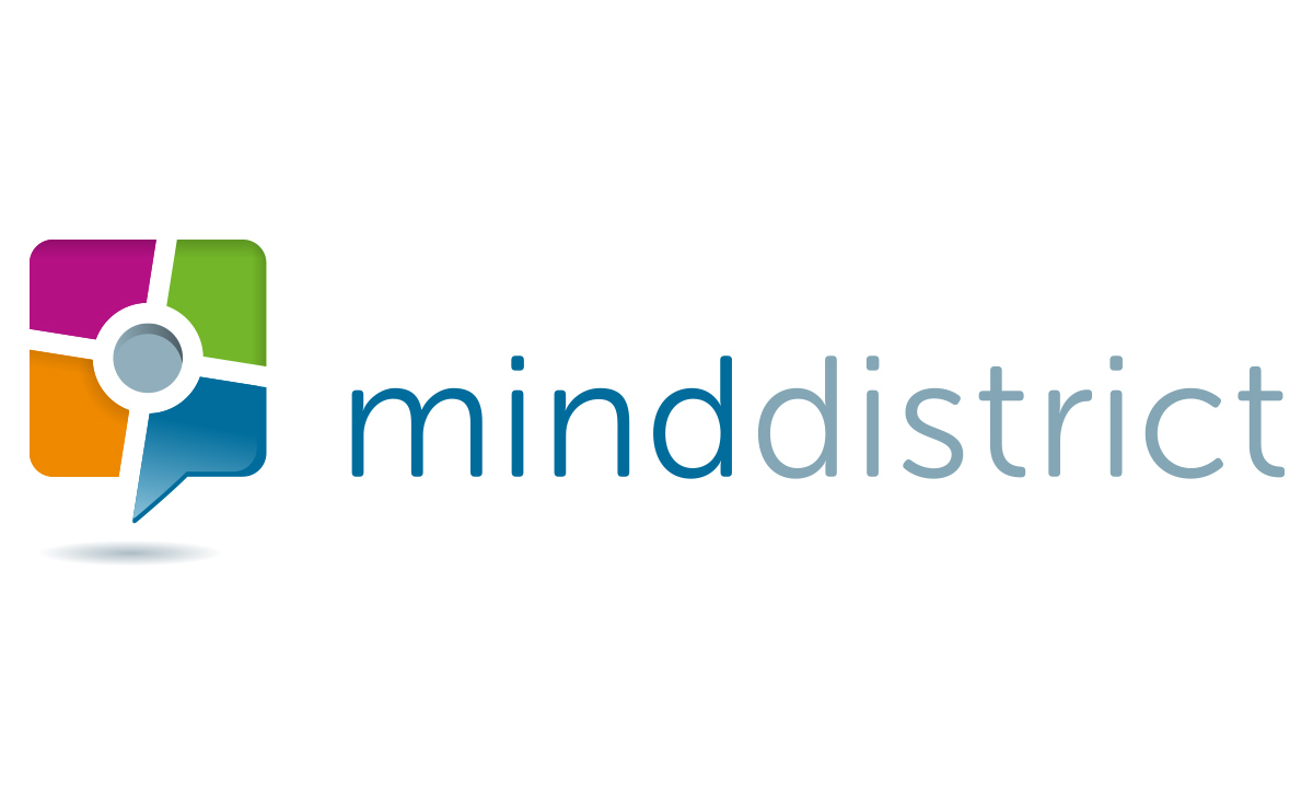 Minddistrict share logo